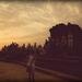 zapad slnka nad Angkor Wat