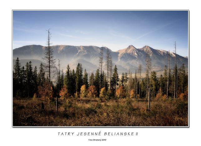 Tatry jesenné Belianske II