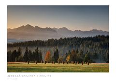 Jesenná krajinka v krajine