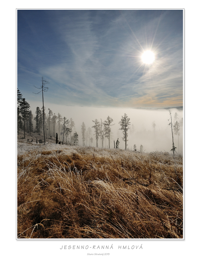 Jesenno-ranná hmlová