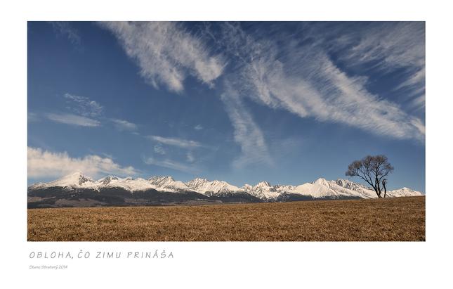 Obloha, čo zimu prináša