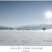 Krajina zimná slnečná