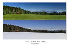 Letno-zimná panoráma