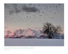 Nielen oblaky nad Tatrami letia