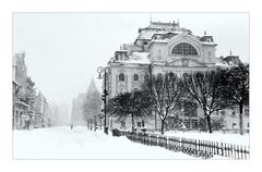 Zima v meste
