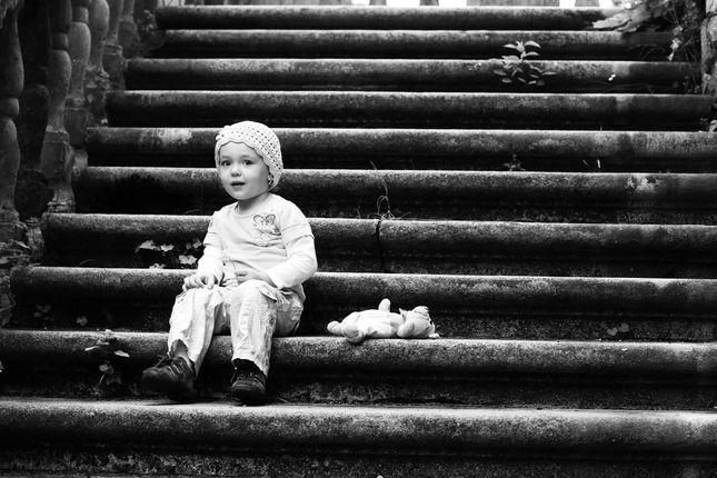 na schodoch ...