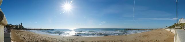 Poludnie na pláži