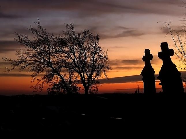 Graveyard Sunset 1.
