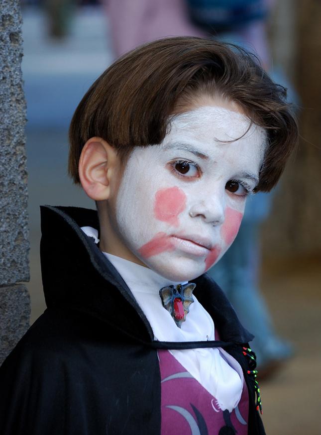 Účastnik karnevalu