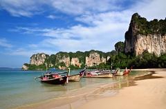 West Railay Beach-Krabi-Thajsko
