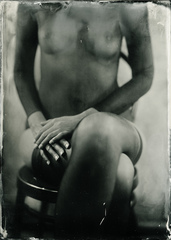 The black lady