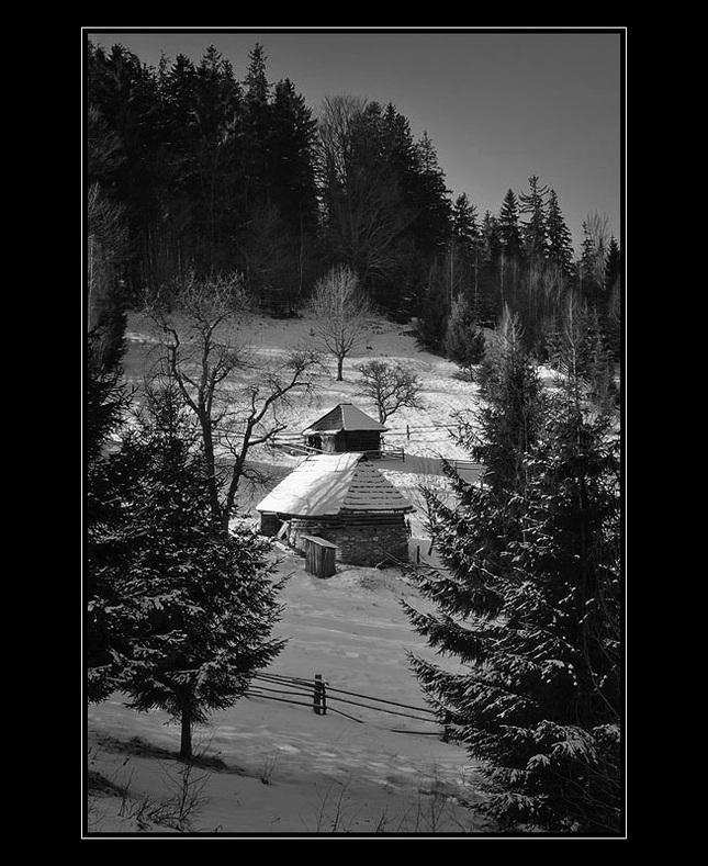 Zima nad Zdychavou