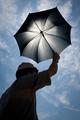 Ozónový dáždnik.