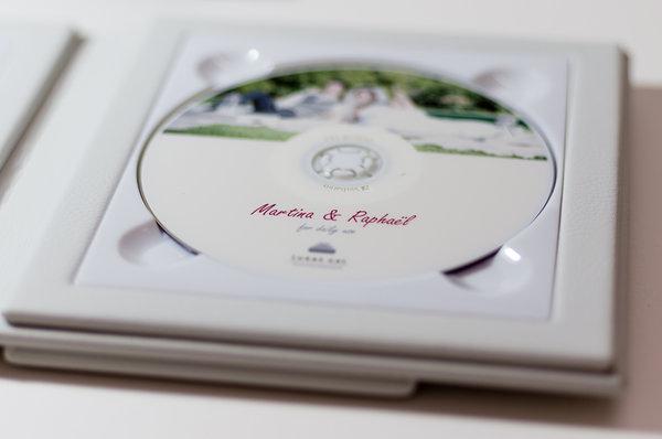 Odovzdávanie svadobných fotografií na DVD