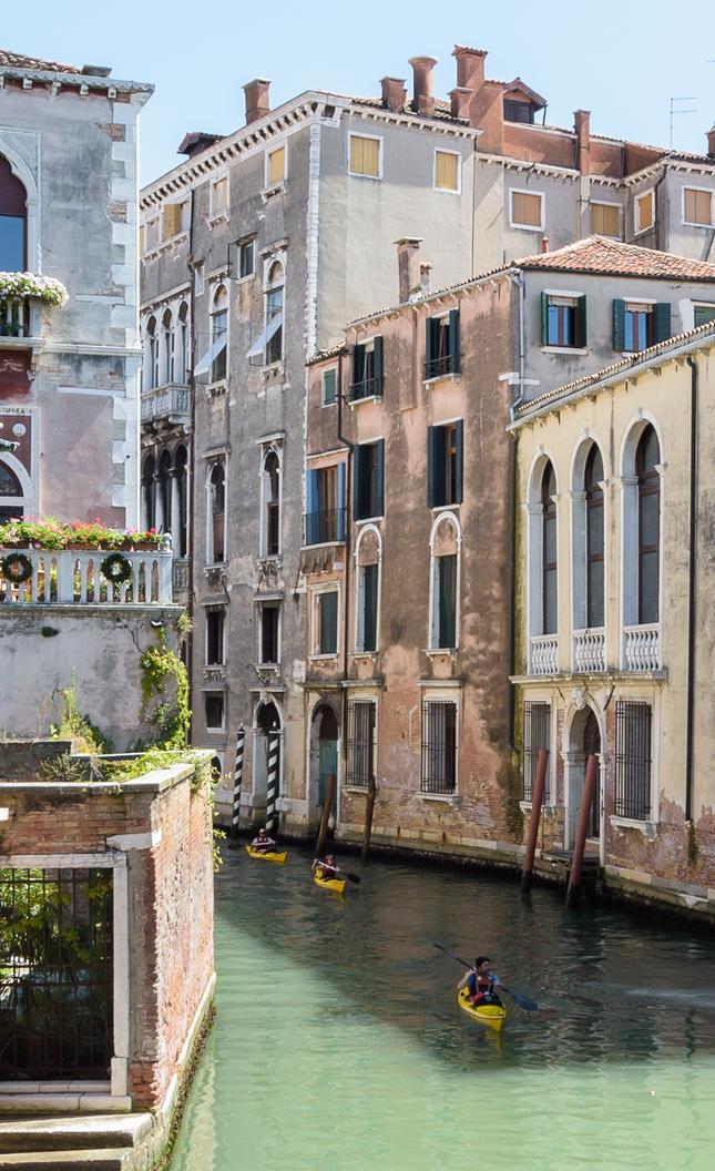 turisti v Benátkach