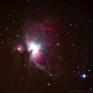 Veľká hmlovina v Orione M42