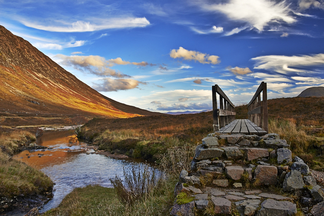 most za údolím glen coe