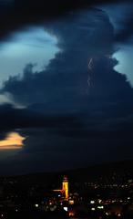 Búrkový večer