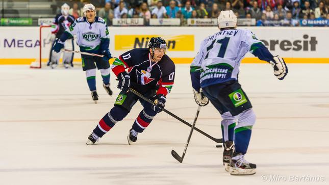 Slovan - Jugra, KHL