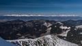 Hrebeň Vysokých Tatier z Chopka