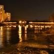 Most v zime