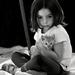 Dievčatko s mačkou