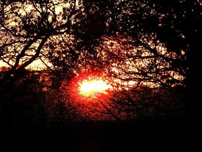 england sunset :)