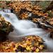 Jesenný vodopád