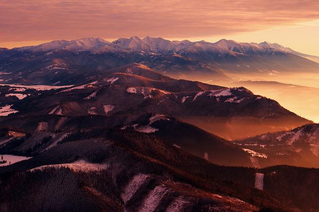...farebný svet tatranský...