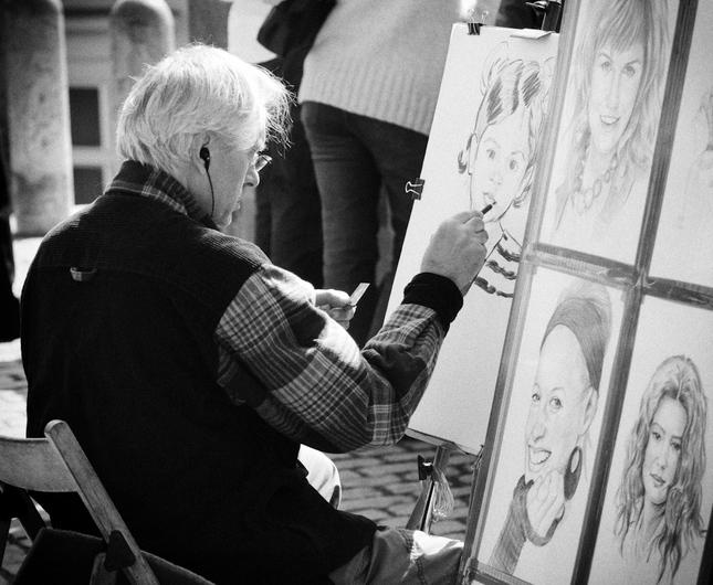 Poulicny maliar