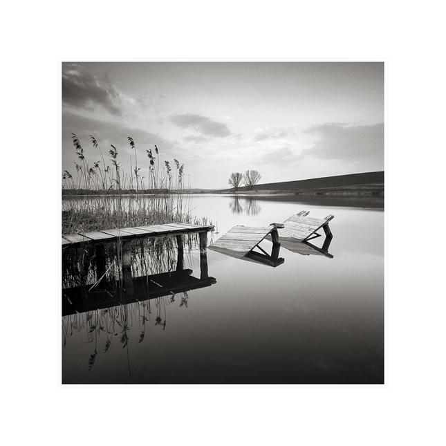 Súmrak na rybníku I.