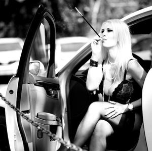 cigaretka na dva ťahy ...