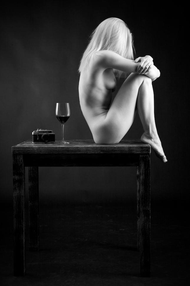 pohár vína