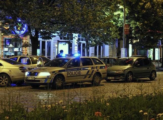 Prazska policie v akci