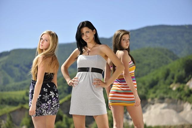 Terka, Baska a Veronika