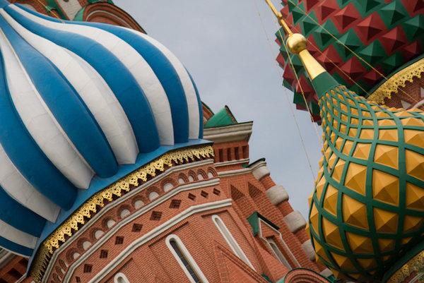 Fotografické střípky z Moskvy