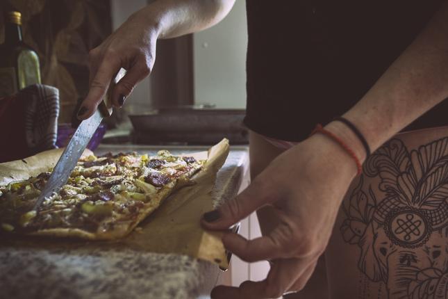 Pizza slice...