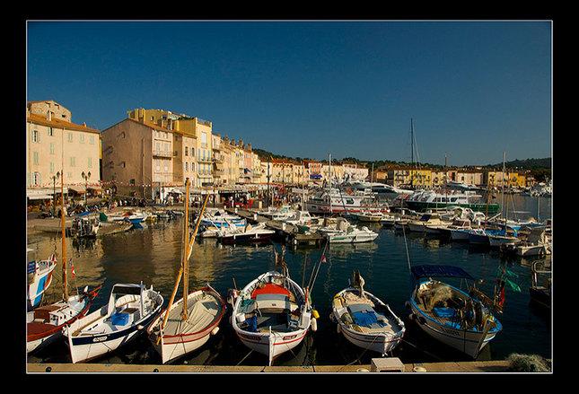 Prístav v Saint Tropez 1