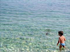 Malý rybár