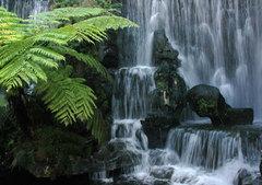 Vodopád v Long Shan Temple