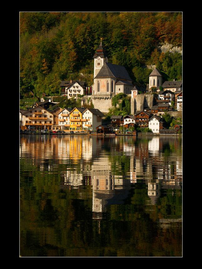 Jeseň v Hallstatte