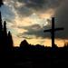 Kríž a lampa
