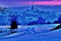 Januárový večer v Silici