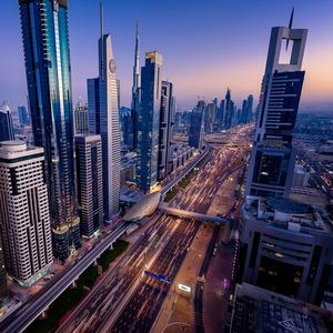 Dubai 7 Futuristic City