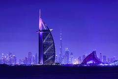 Dubai 3 Skyline