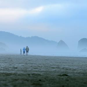 Prechádzka na pláži