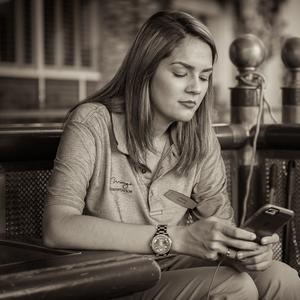 Zamilovaná do telefónu