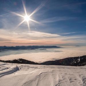Slnko na horách