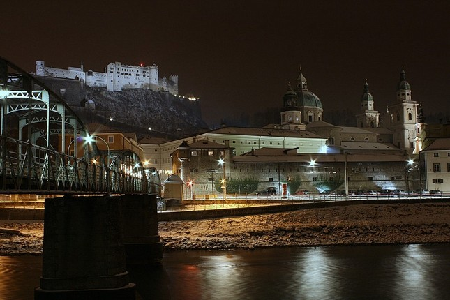Salzburg mesto + hrad