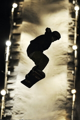 S ako snowboard